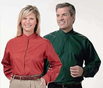 banded collar shirts...NOOOO!