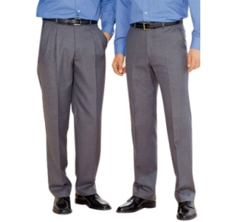 Pleated Pants vs Flat Front Pants