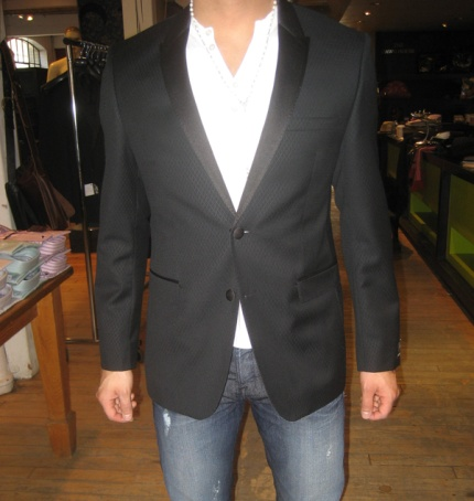 Fitted Tuxedo Coat