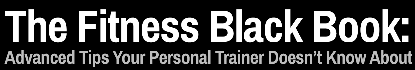 Fitness Black Book